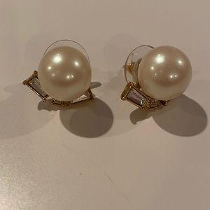 Kate Spade Embellished Pearl Earrings